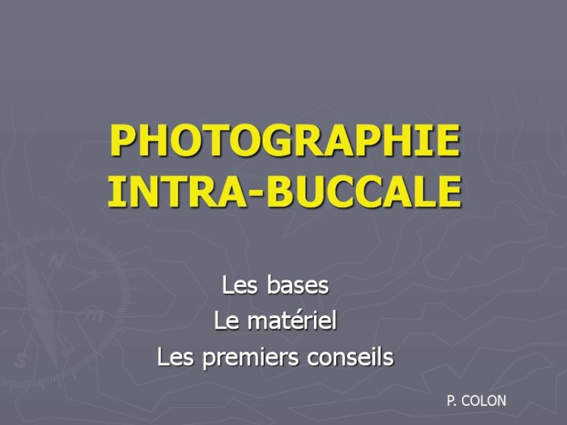 buccale - la photographie intra-buccale Photo10