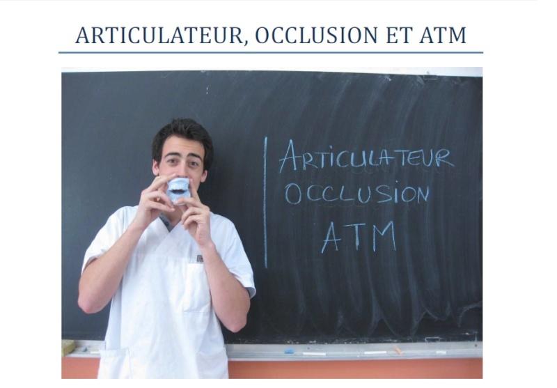 Articulateur,occlusion et ATM Sans_t10