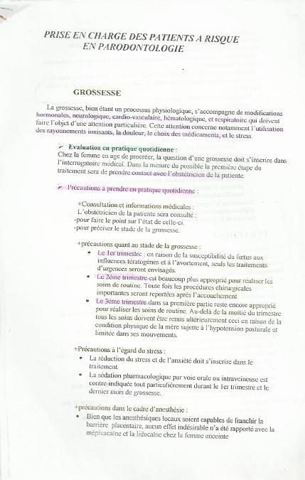 Patients à risque en parodontologie Sans_t36