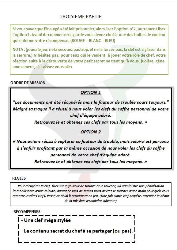 OPERTION FAUTEUR DE TROUBLE 410