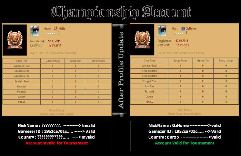 Championship Rules (8ball & snooker) Champi10