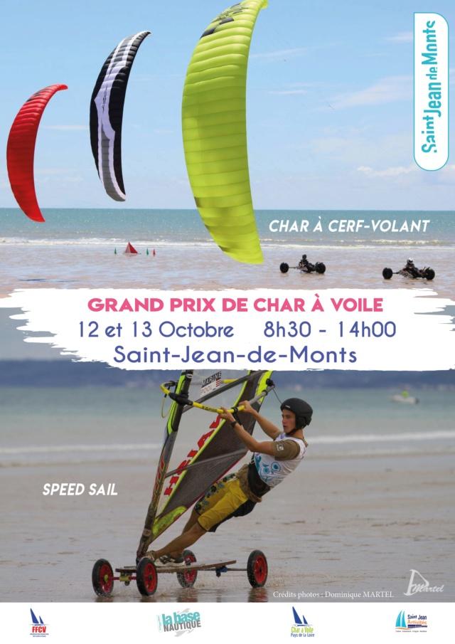 GP CL7 et 8  St jean de mont 12 et 13 Octobre 2019 Affich19