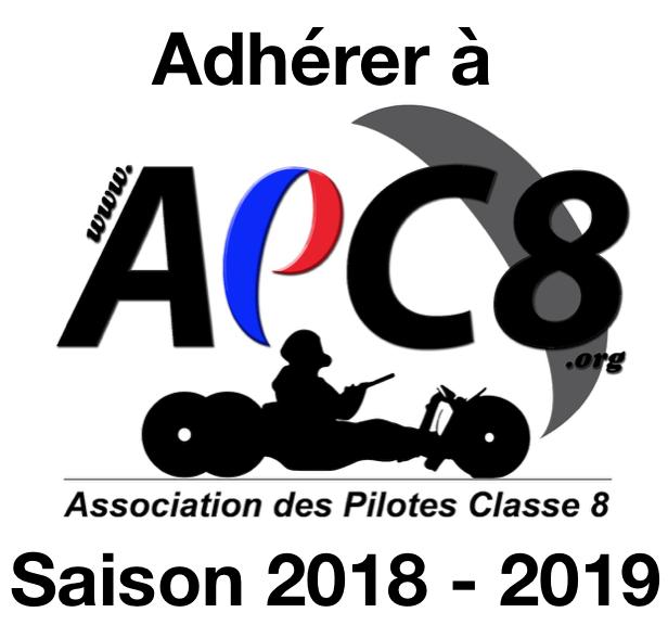 APC8= - ADHÉSION APC8 2018-2019 Saison10