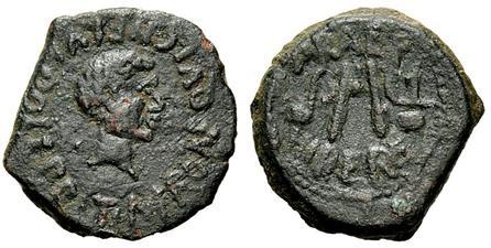 Semis de Cartago Nova (Tiberio como tribuno) HIBERO PRAEF. 119