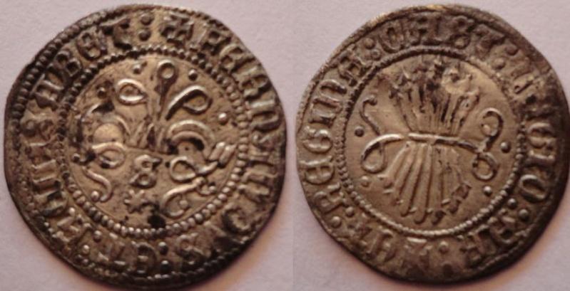 1/2 Real a nombre de los Reyes Católicos. Sevilla. Falsificación de Remoneda. 163