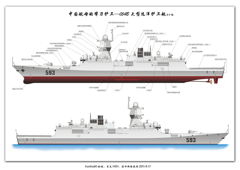 Frégates Chinoises - Projet 056 Milita11