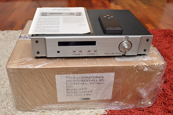 Pass Labs X2.5 Preamplifier (Used) SOLD X2_510