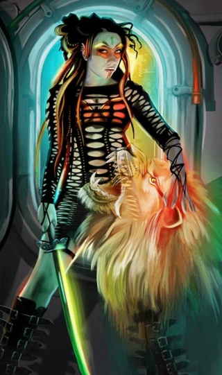 Tarot review: Shadowrun: Sixth World Tarot Shadow10