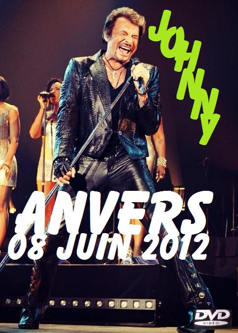 johnny hallyday dvd rare Anvers10