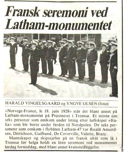 """[ Associations anciens Marins ] A.G.A.S.M. Le Havre section """"ESPADON"""" - Page 3 Latham11"""