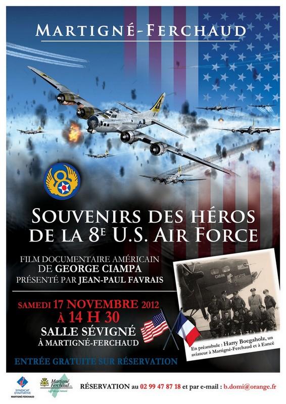 Souvenirs des héros de la 8e USAF Affich11