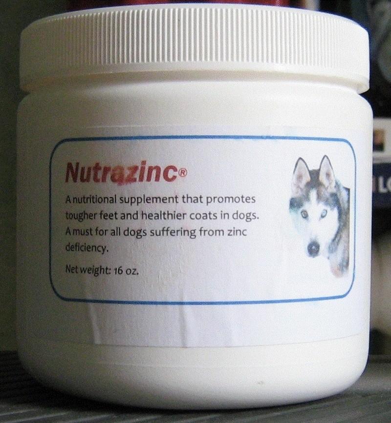 Carence en zinc, produit de traitement de fond Nutraz10