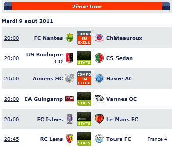 Pronostics coupe de la ligue 2011 - 2012 Screen24