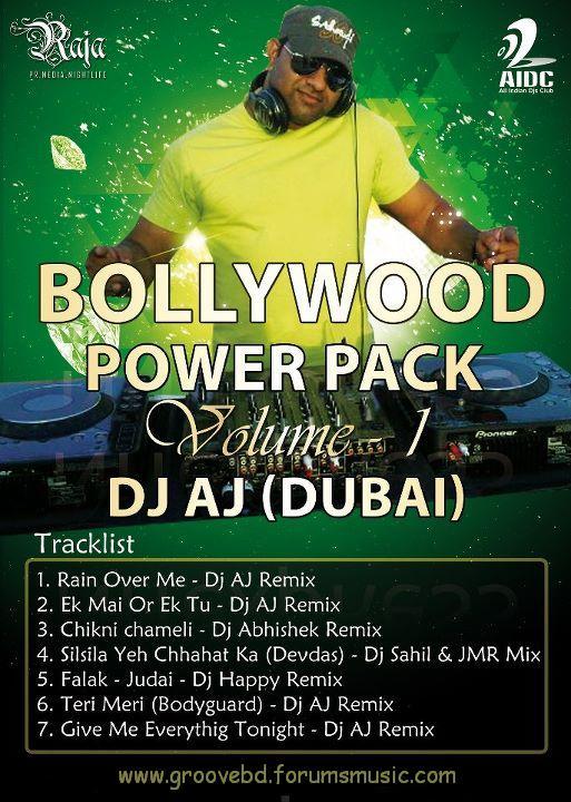 Dj AJ - Bollywood Power Pack (vol - 1) 39860110