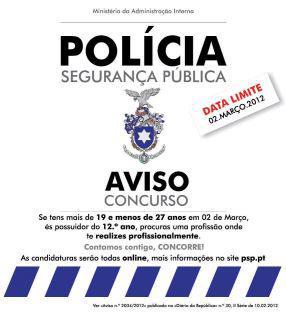 ABERTURA DE CONCURSO PARA A GNR E PSP Concps10