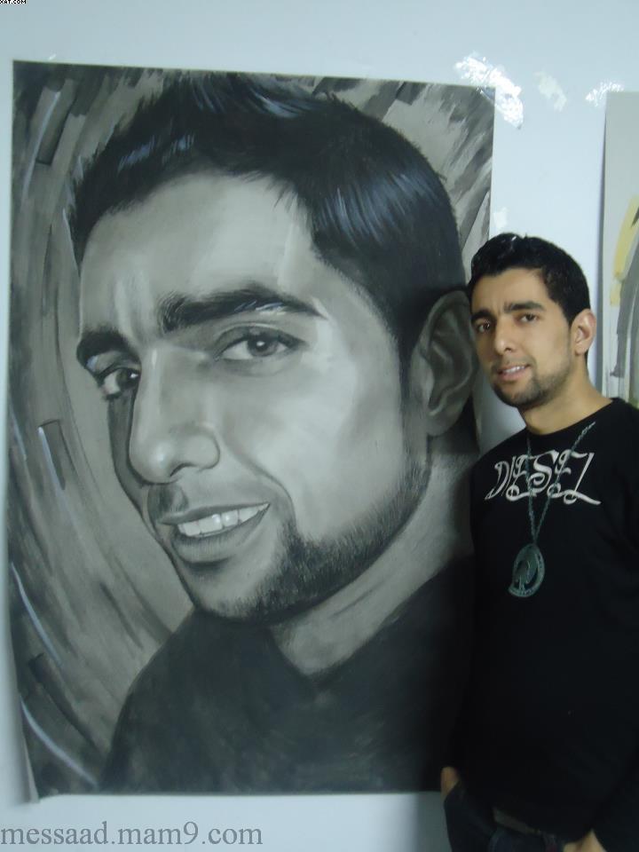الفنان فريطيس عبد المجيد أحد فنني مدينة مسعد الجلفة 55461710