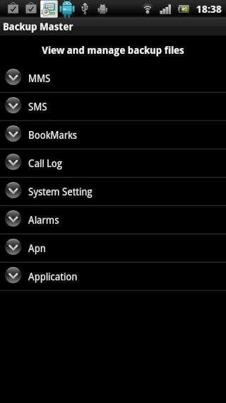 [SOFT] EASY BACKUP : Enfin un programme gratuit pour sauvegarder vos MMS et bien plus [Gratuit] Ss-48013