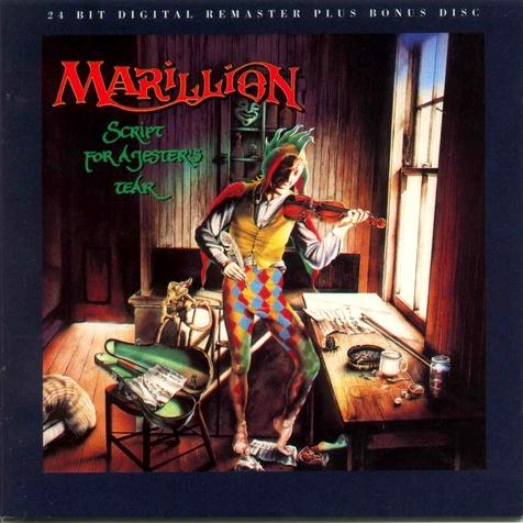 Marillion ''Script for a jester's tear'' Marill10