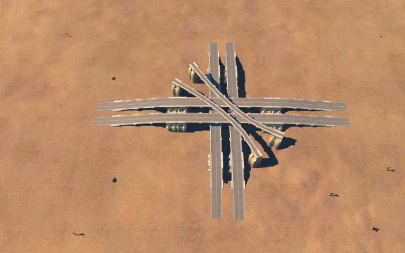 échangeur spaghetti Gamesc25