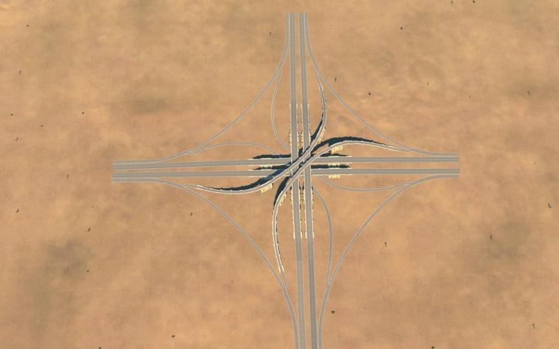 échangeur spaghetti Gamesc40