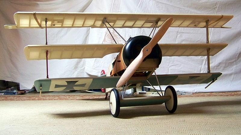 Fokker DR.I  -  DeAgostini-Umbau, M 1:6 Allgem10