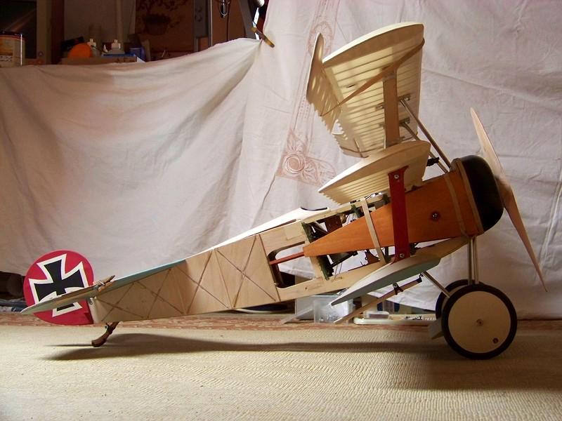 Fokker DR.I  -  DeAgostini-Umbau, M 1:6 Allgem11