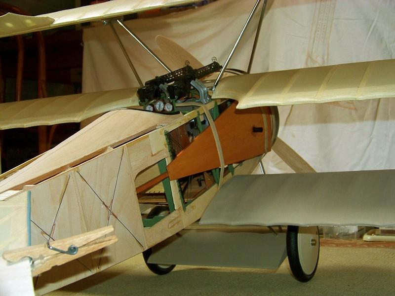 Fokker DR.I  -  DeAgostini-Umbau, M 1:6 Allgem14