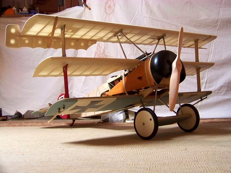 Fokker DR.I  -  DeAgostini-Umbau, M 1:6 Allgem16