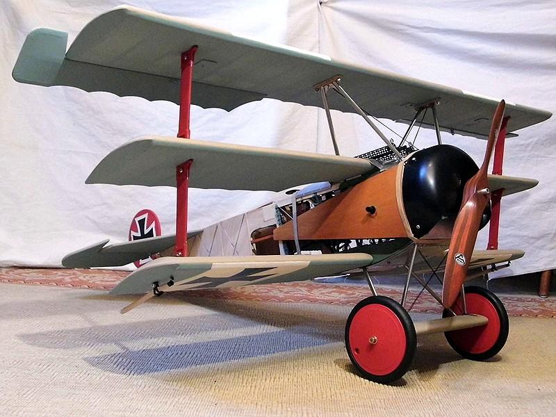 Fokker DR.I  -  DeAgostini-Umbau, M 1:6 - Seite 2 Rumpf_37