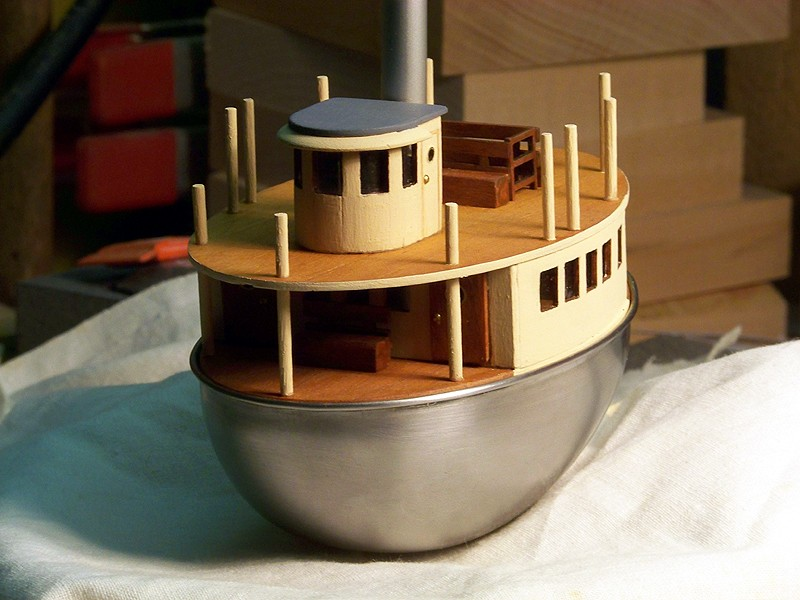 FUN-PROJEKT STEAM BOAT - Seite 2 Touris31
