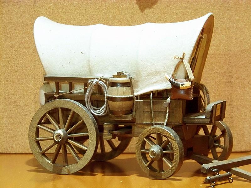 Fuhrwerke im Wilden Westen Wagon_11
