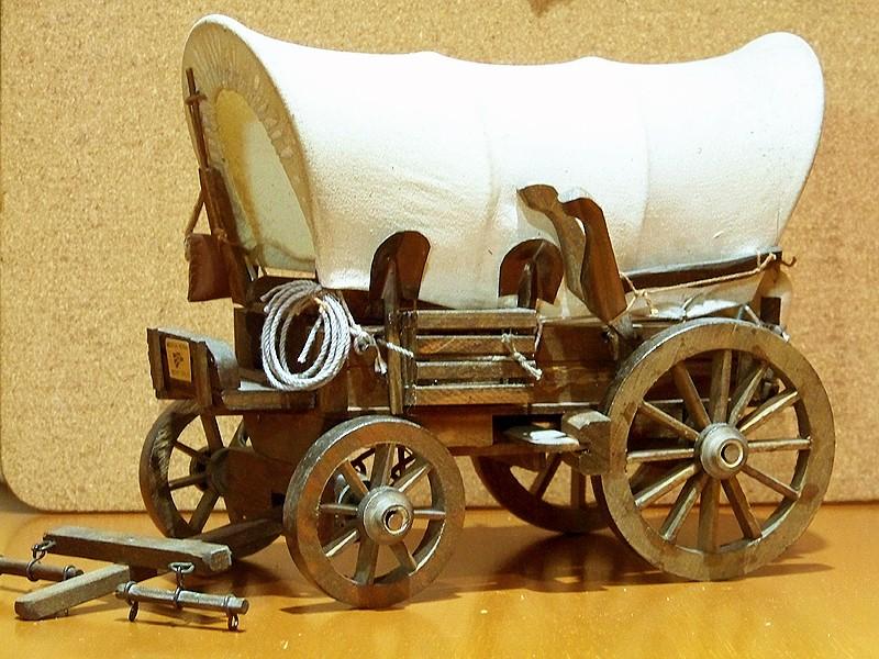 Fuhrwerke im Wilden Westen Wagon_12