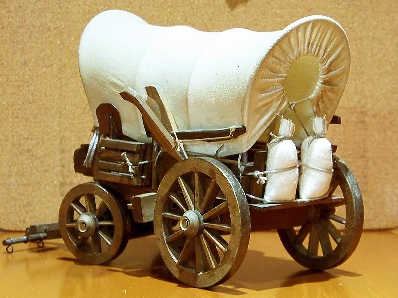 Fuhrwerke im Wilden Westen Wagon_13