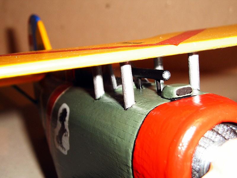 Deko-Flugzeug aus Holz Yellow13
