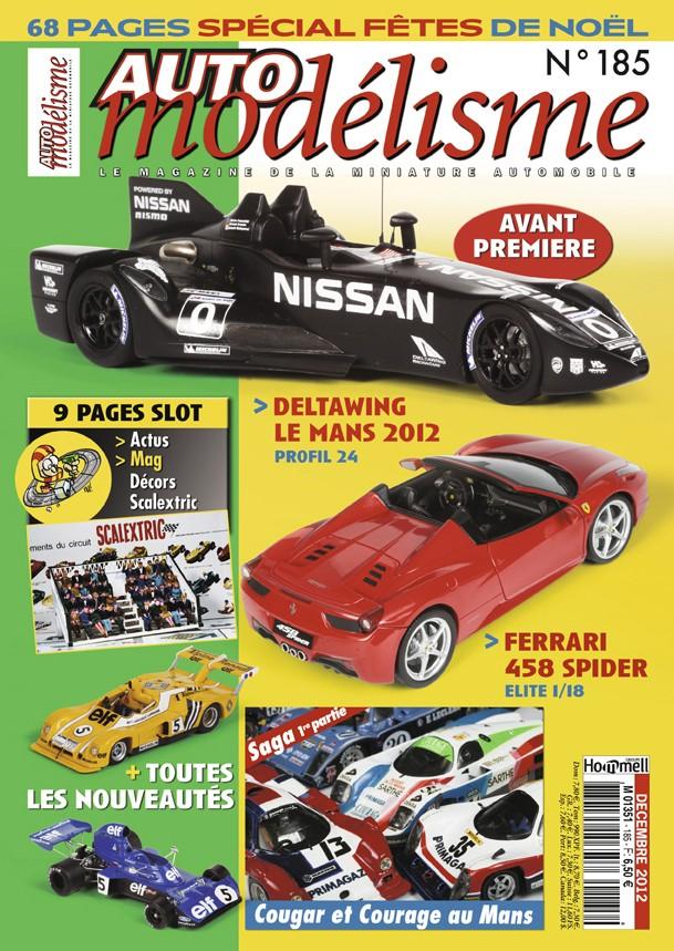 AUTO MODELISME No 185 DECEMBRE 2012 Couv_120