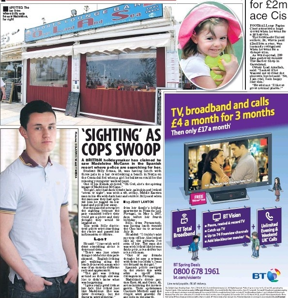 Police are investigating reported sighting of Madeleine McCann in Nerja - Page 4 Billy10