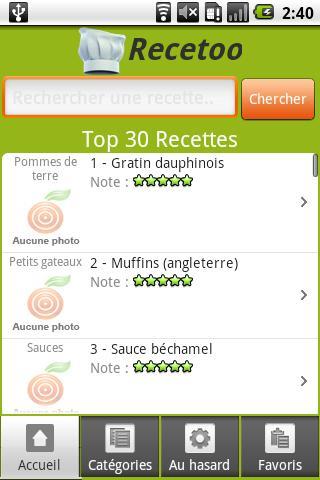 [SOFT] RECETOO : recette de cuisine [Gratuit/Payant] Unname36