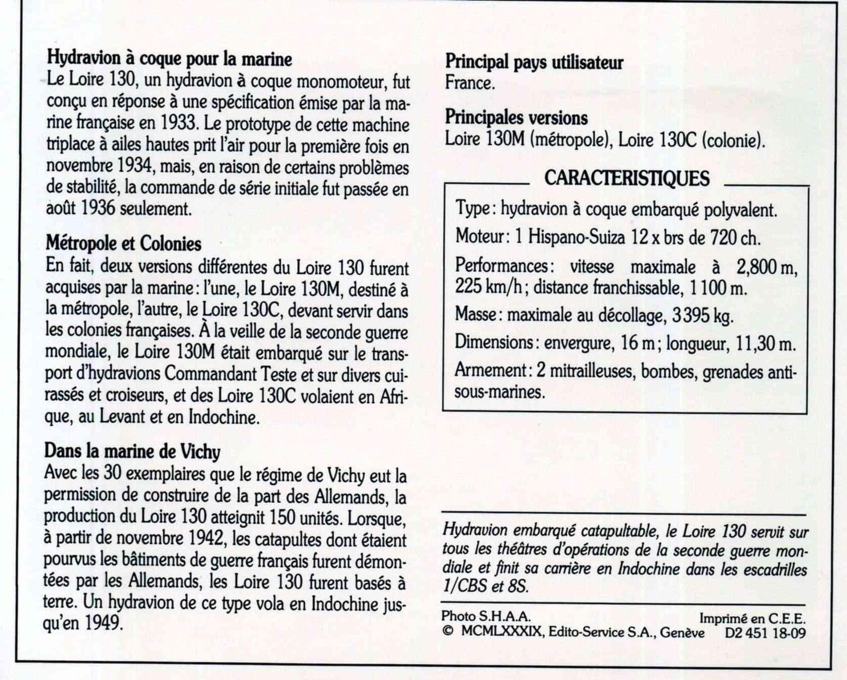 [Les anciens avions de l'aéro] HYDRAVION LOIRE 130 Loire_11