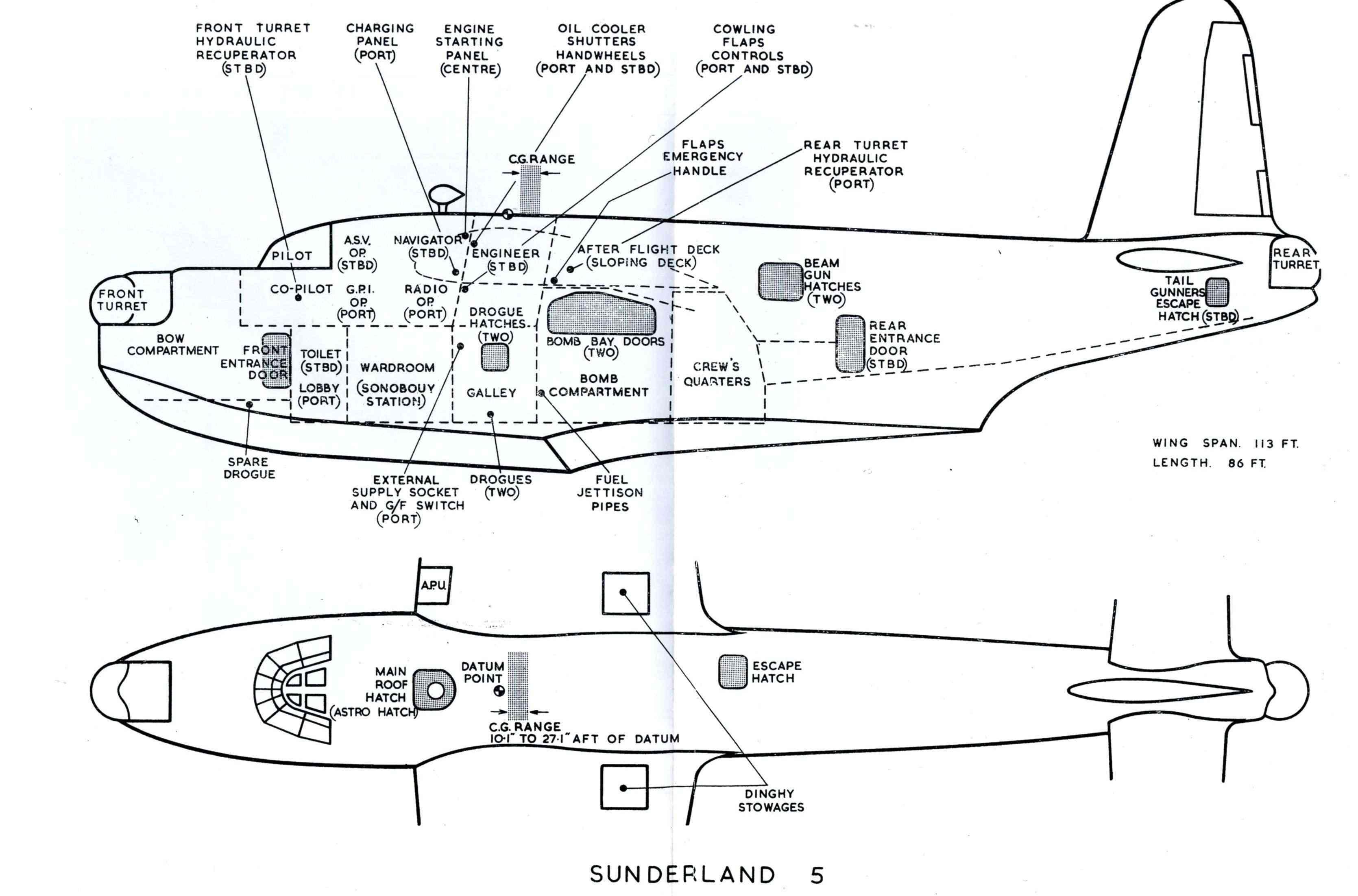 """[Les anciens avions de l'aéro] Hydravion SHORT """"SUNDERLAND"""" Sunder11"""