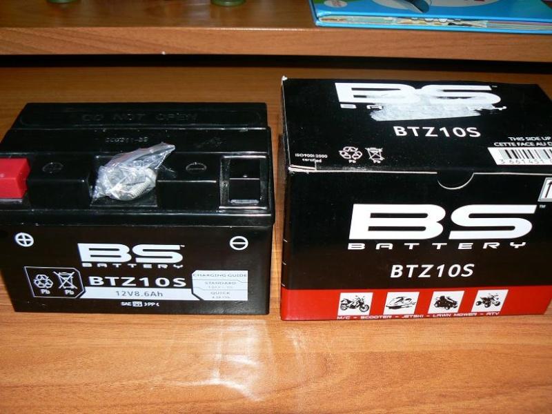 Batterie   BS battery BTZ 10 S P1090114