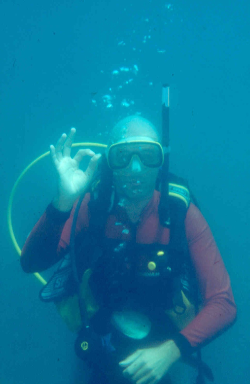 Les diapositives de Jean Pierre en plongée au Tanganyika. 003910
