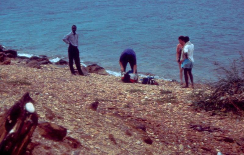 Les diapositives de Jean Pierre en plongée au Tanganyika. 004010