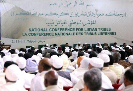 وفد القبائل الليبية من القاهرة: اكثر من 2000 قبيلة تؤيد القذافي واعضاء المجلس الانتقالي مجرمون 4c057710