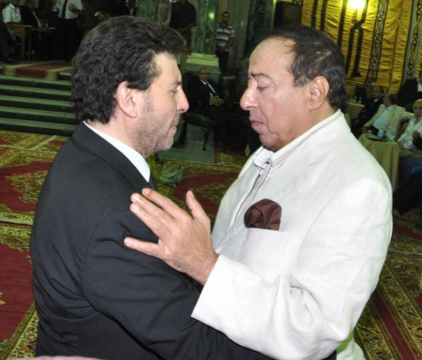 عزاء ابنة هاني شاكر بالصور Image-11