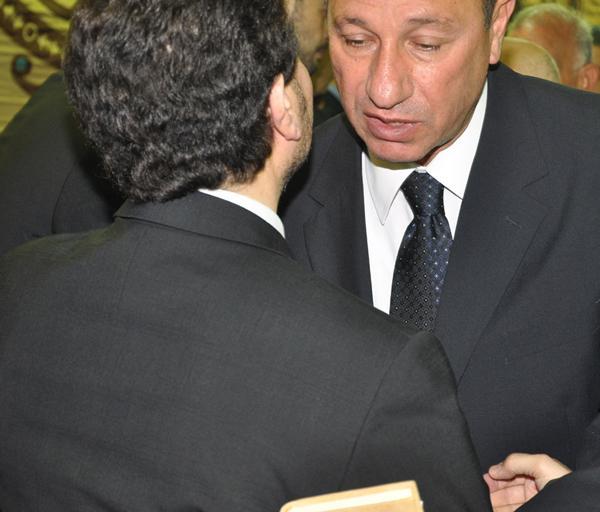 عزاء ابنة هاني شاكر بالصور Image-14