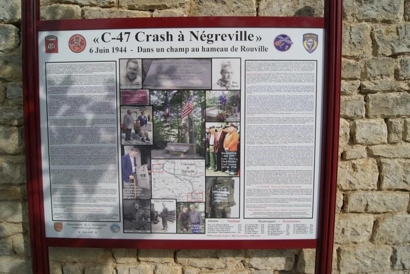 Monument WW2 - Négreville (Normandie) Dsc07513