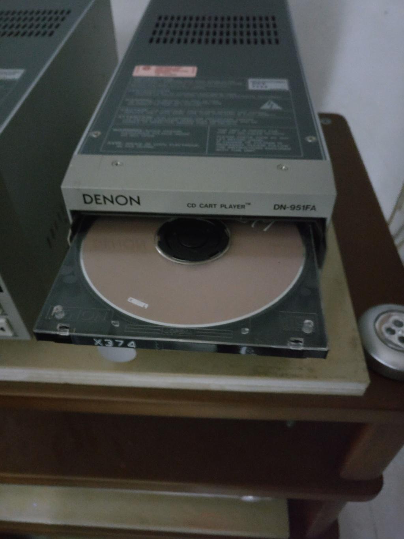 Denon DN-951FA Broadcasting studio CD Player Img_2033