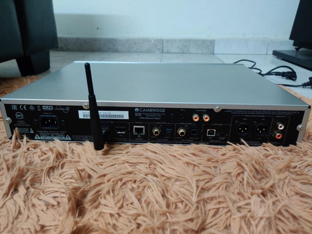 Cambridge Audio CXN Network Streamer Img_2039