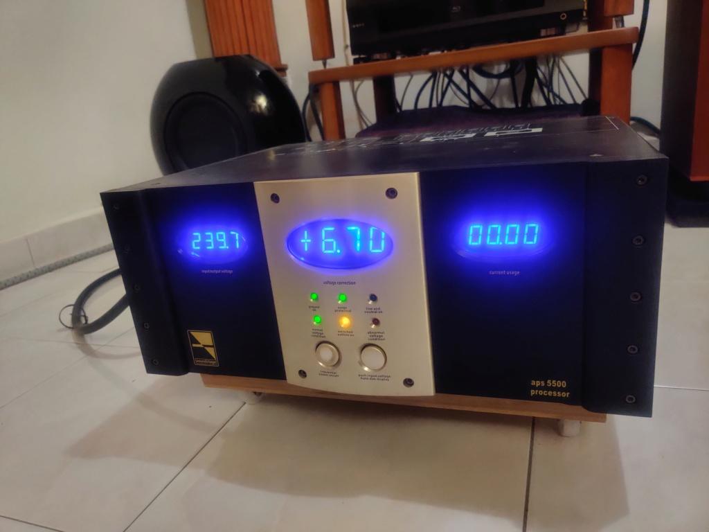 Soundstage APS 5500 Auto Voltage Regulator Img_2046