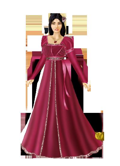 Mariage de La Rossa et Yocto! Robe_r10